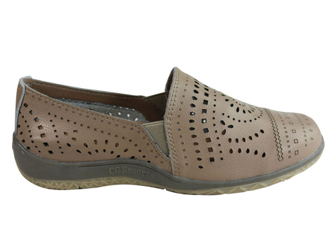 CC Resorts Joelene Womens Comfortable Casual Leather Shoes