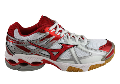 Mizuno Womens Wave Bolt 4 Netball Volleyball Sport Shoes