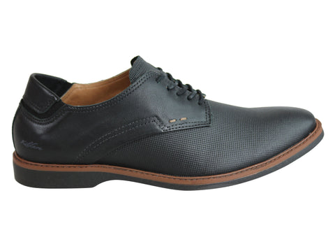 Kildare James Mens Comfortable Lace Up Dress Shoes Made In Brazil