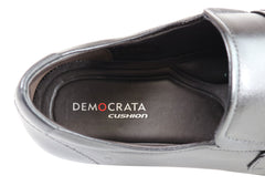 Democrata Theo Mens Leather Cushioned Dress Shoes Made In Brazil