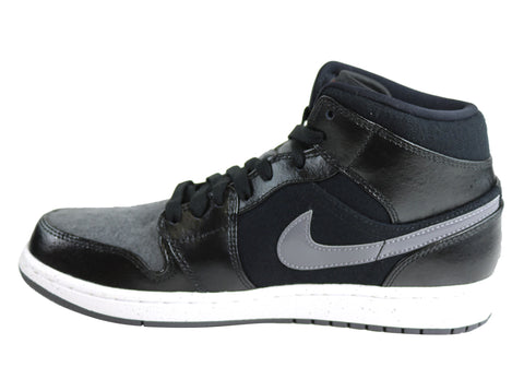 8fd77fabe077 Nike Air Jordan 1 Mid Premium Hi Tops Basketball Shoes