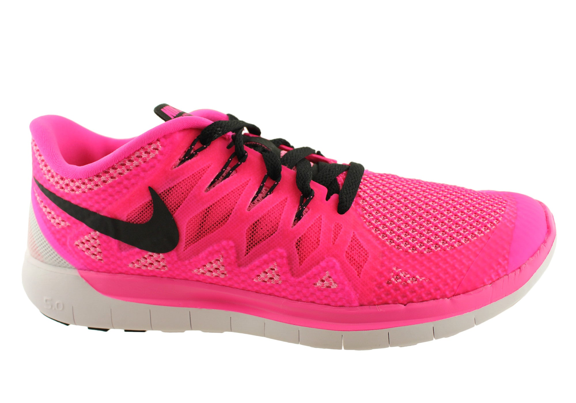 a1c352d2931df Home Nike Free Run 5.0 Womens Lightweight Running Shoes. Pink  ...