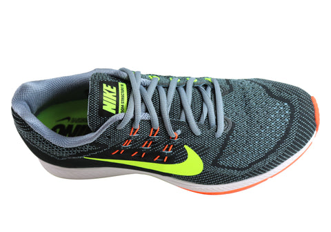 sports shoes 728d0 e1298 Nike Mens Air Zoom Structure 18 Premium Running/Sport Shoes ...