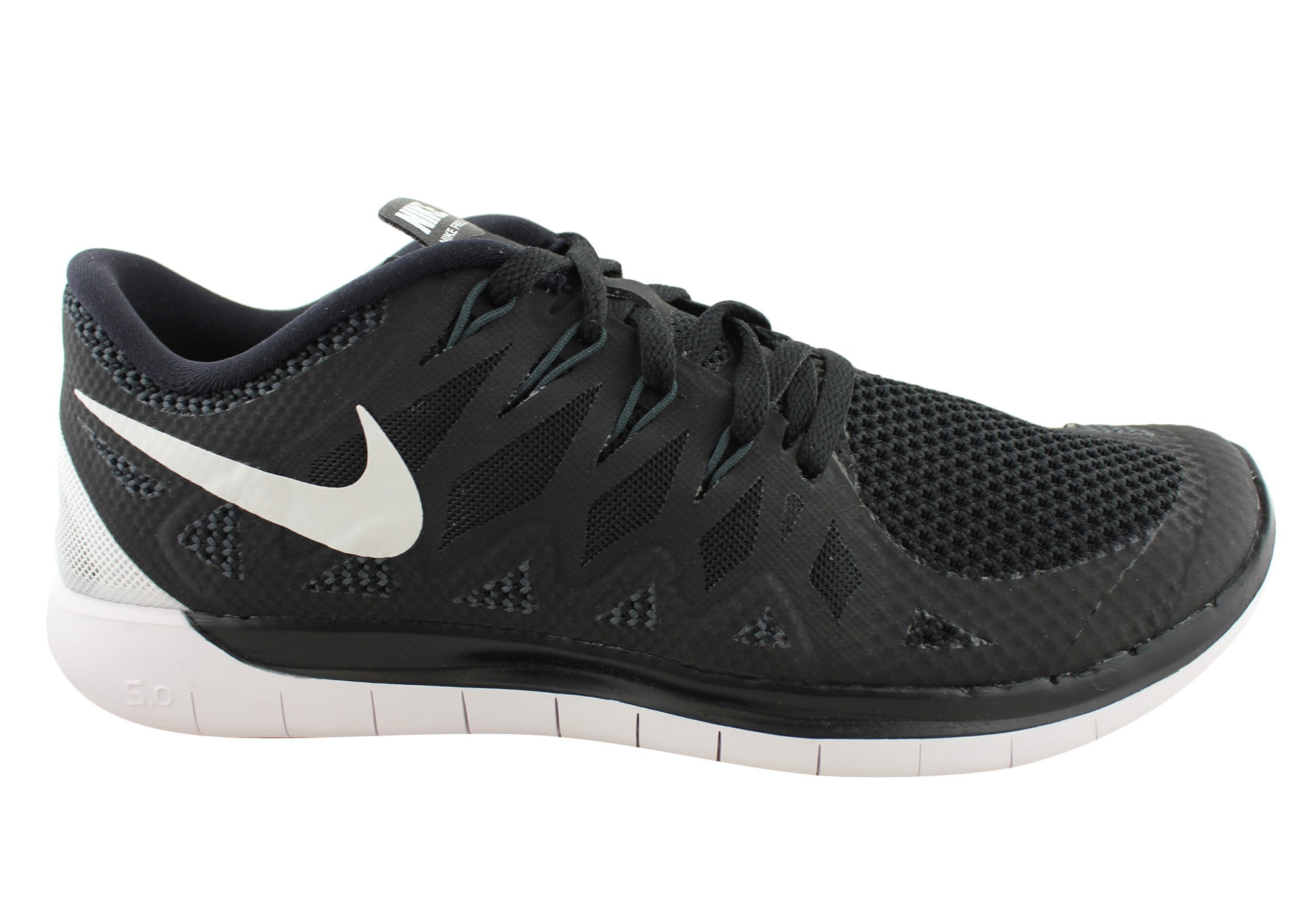 release date: 5ddd5 78001 Home Nike Free 5.0 Mens Barefoot Running Shoes. Black  ...