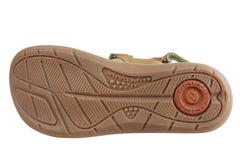 Pegada Bev Womens Comfort Cushioned Adjustable Leather Sandals