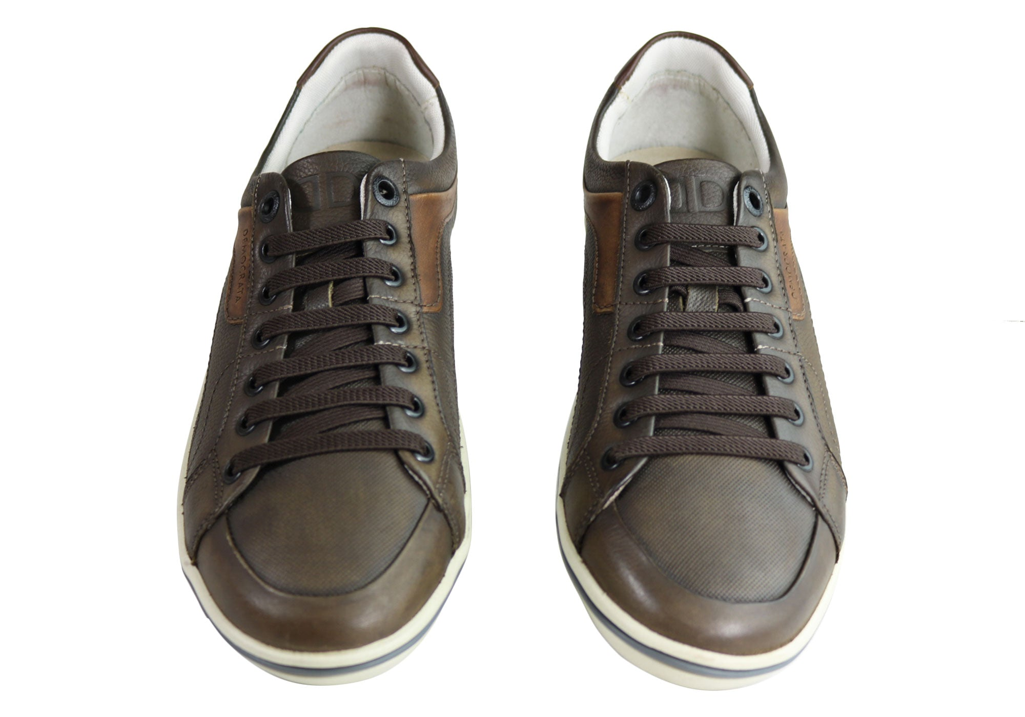NEW-DEMOCRATA-MILES-MENS-LEATHER-SLIP-ON-CASUAL-SHOES-MADE-IN-BRAZIL thumbnail 5