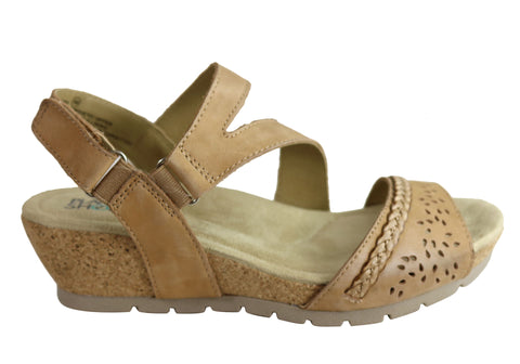 Planet Shoes Tatiana Womens Comfortable Low Heel Wedge Sandals