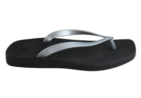 Archline Womens Supportive Breeze Orthotic Flip Flops Thongs