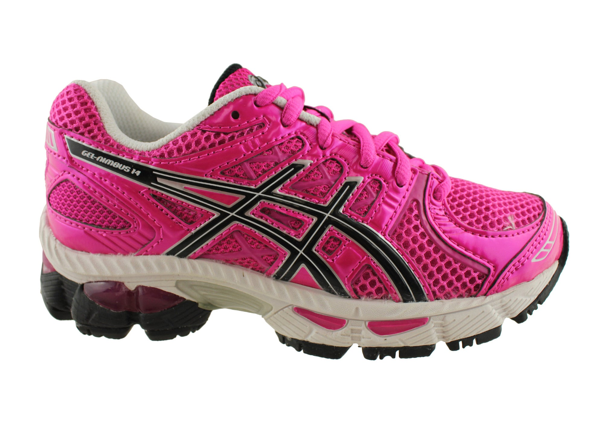Asics Gel-Nimbus 14 GS Kids Cushioned Running Shoes  7c53be1ca
