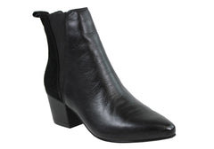RMK Maddi Womens Leather Fashion Ankle Boots
