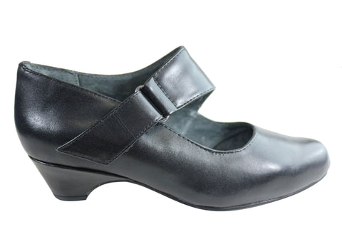 Homyped Lisa Womens Leather Comfortable Low Heel Shoes