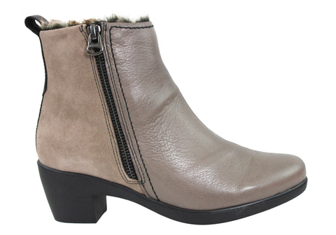 Hispanitas Womens Soft Leather Boots Made In Spain