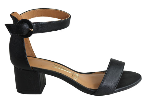 Vizzano Chance Womens Comfortable Fashion Low Block Heel Sandals