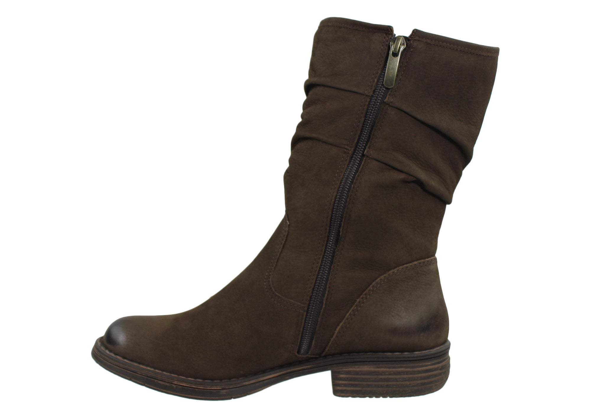 Gino Ventori Elysse Womens Leather Boots Made In Brazil