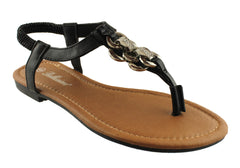 Bellissimo Link Womens Fashion Sandals