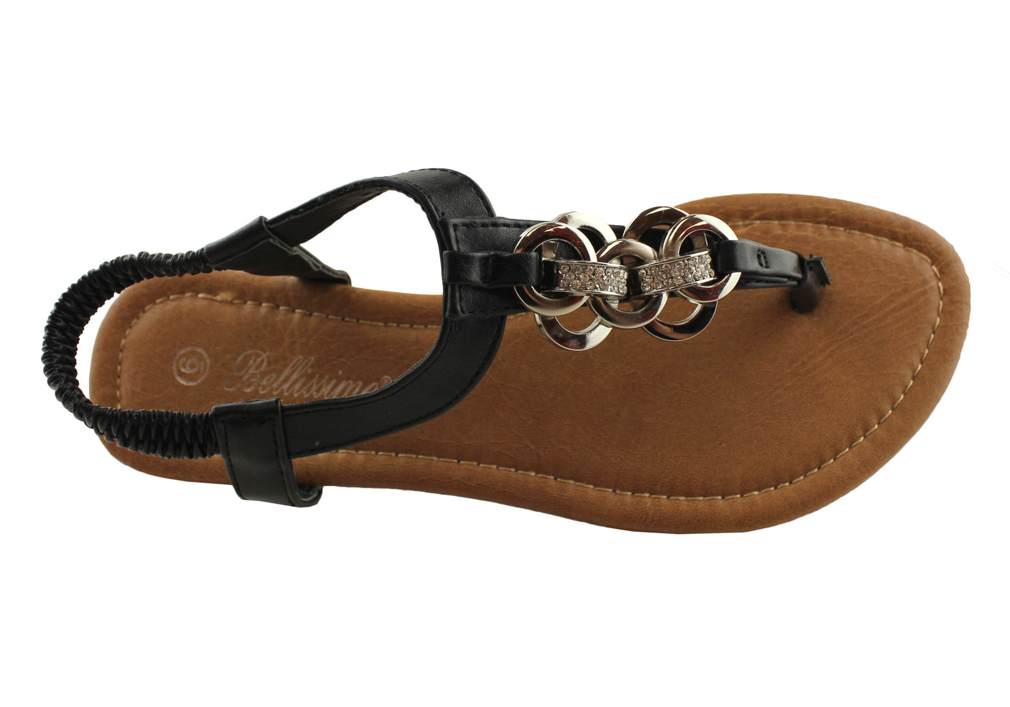 Bellissimo Link Womens Fashion Sandals Brand House Direct
