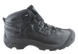 Keen Mens Detroit Mid Lace Up Waterproof Wide Fit Boots
