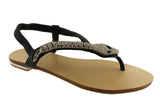 Bellissimo Snake Summer Diamantee Sandals