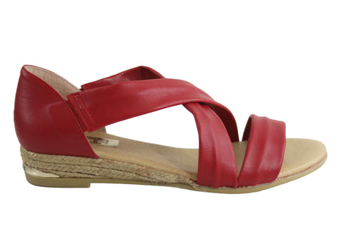 Pinaz 317 AO Womens Leather Sandals Made In Spain