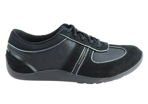 Rockport Womens TruWALKzero III T-Toe Lace Up Wide Fit Shoes