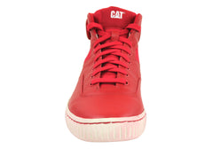 Caterpillar Lexicon Mens Leather Lace Up Hi Tops