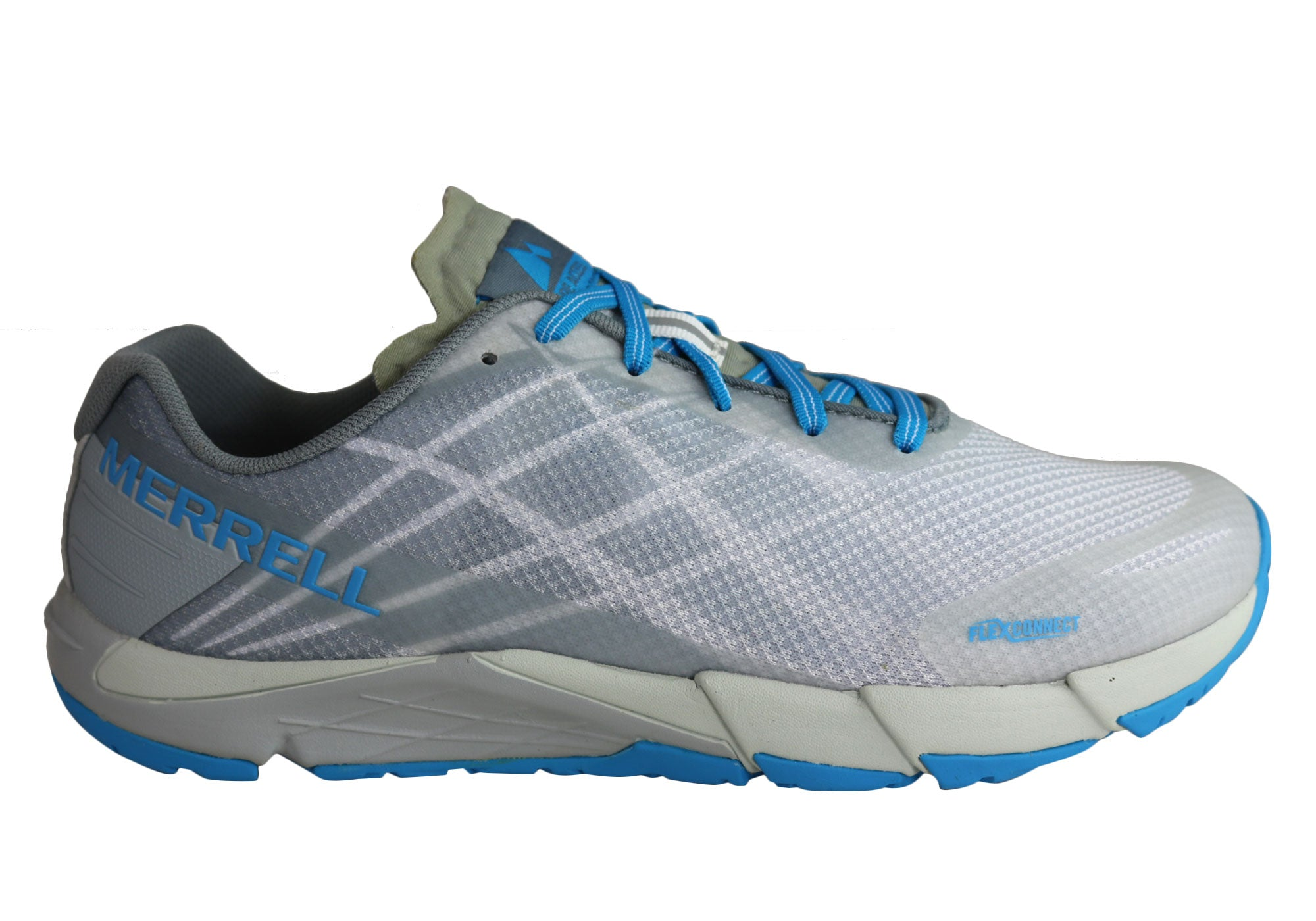 6ab25a0d449f Home Merrell Womens Bare Access Flex Comfortable Athletic Shoes. Ice ·  Aruba Blue ...