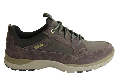 Rockport Kingstin Waterproof Blucher Mens Comfort Wide Fit Shoes