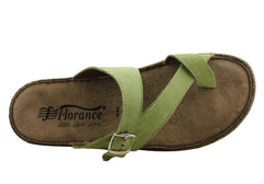 Florance 227001 Womens Leather Sandals Made in Italy