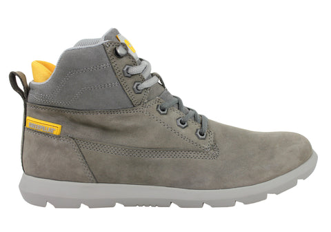 Caterpillar Galen Mid Mens Lace Up Boots (Wide Fit)