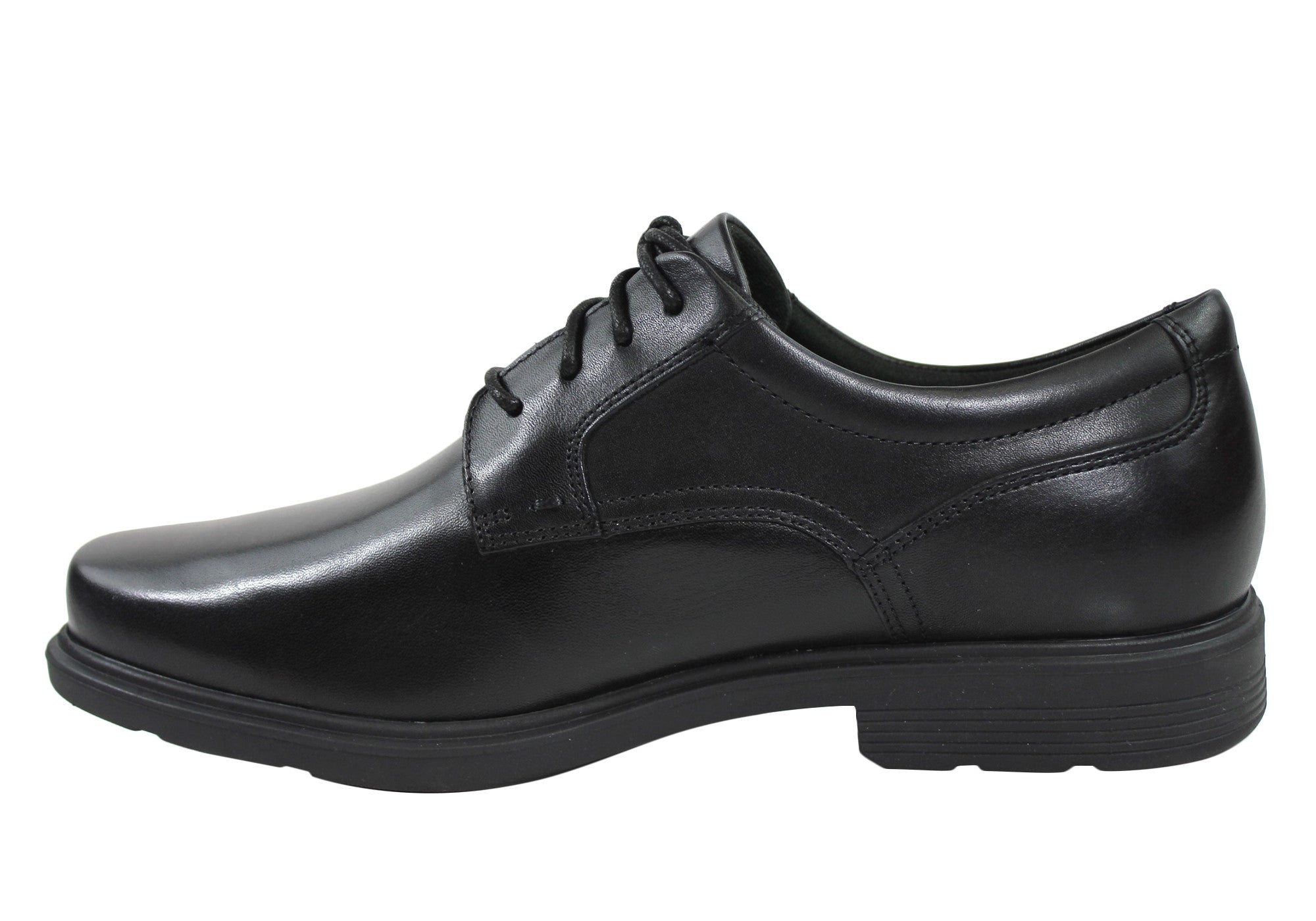 Rockport Style Tip Plain Toe Oxford Mens Dress Shoes