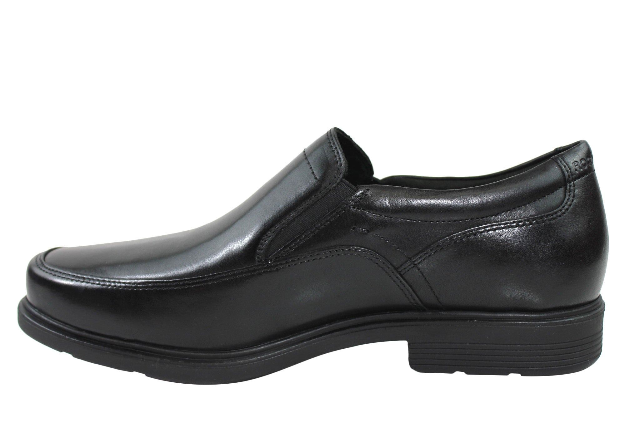 Rockport Style Tip Double Gore Mens Leather Dress Shoes