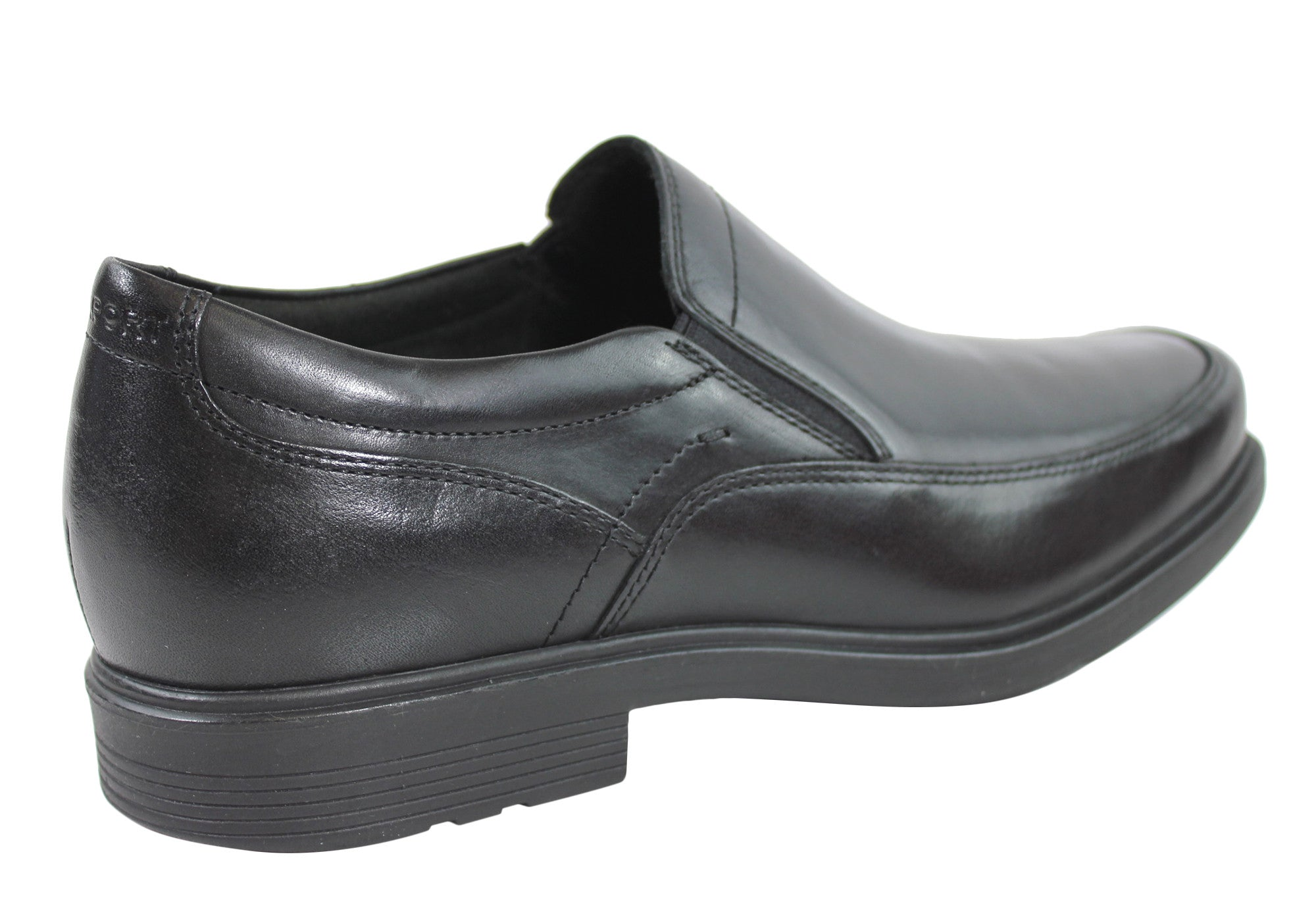 Rockport Style Tip Double Gore Mens Leather Shoes