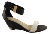 Lavish Nelli Womens On Trend Wedge Sandals