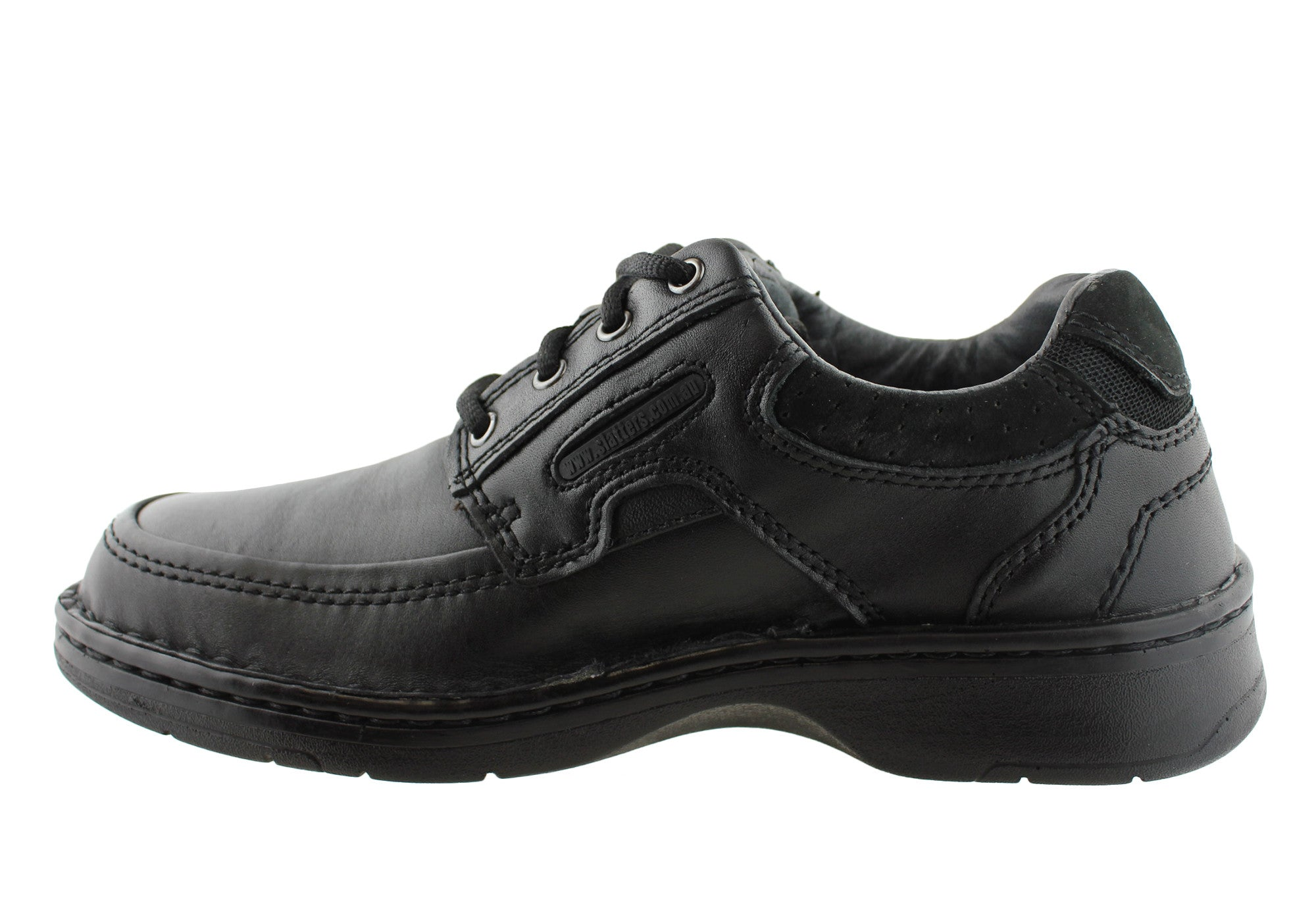 Slatters Chronic Mens Leather Comfort Lace Up Shoes