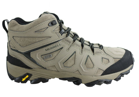 Merrell Moab FST Leather Mid Waterproof Hiking Shoes