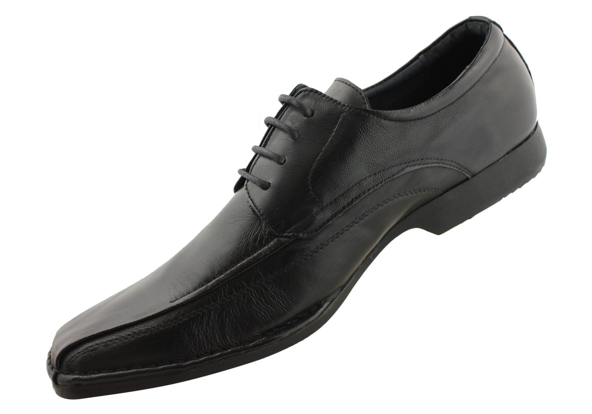 Slatters Eaton Mens Leather Lace Up Dress Shoes