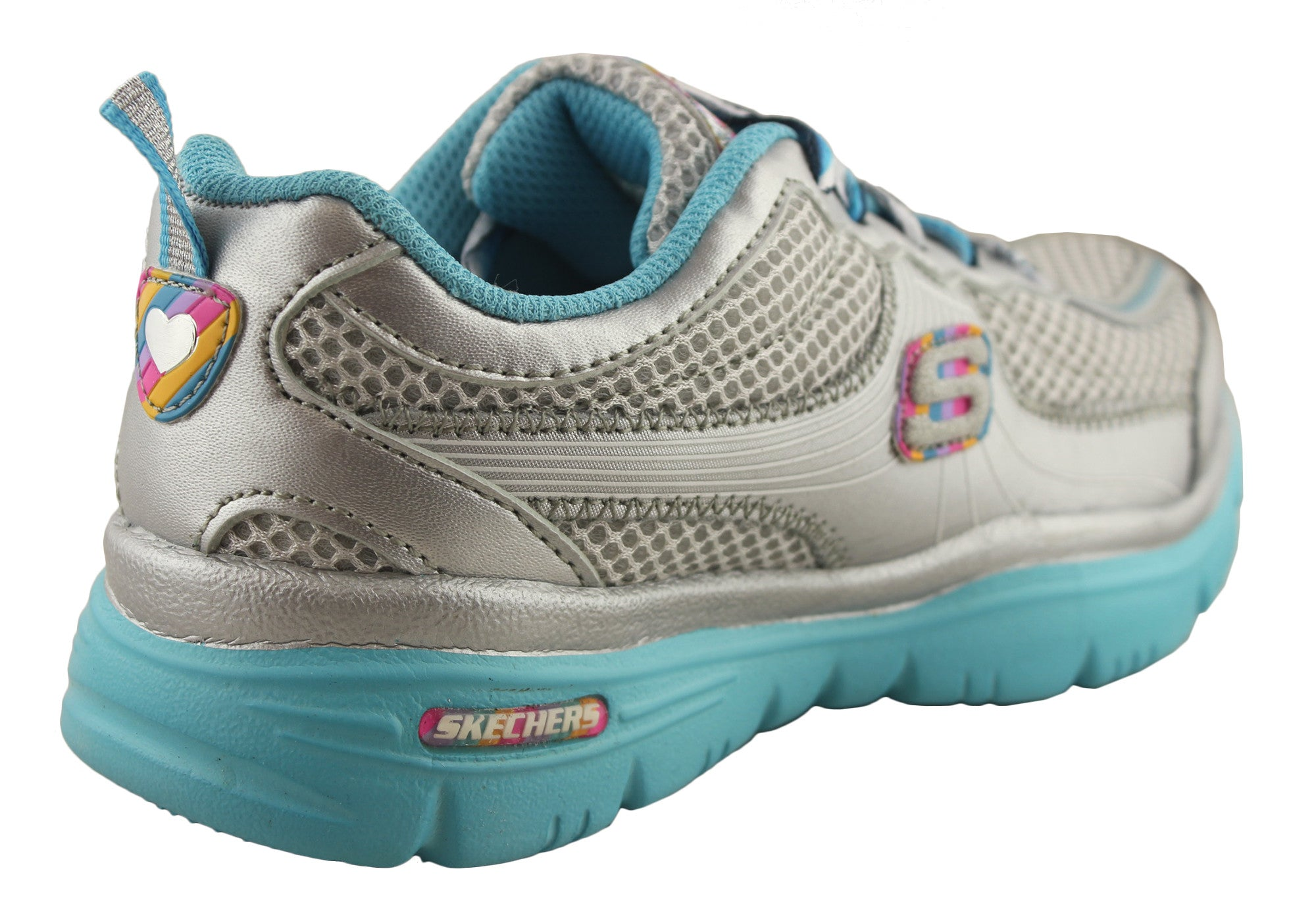 Skechers Lite Sprints Floating Hearts Girls Sneakers