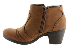 Planet Shoes Zara Womens Comfortable Ankle Boots