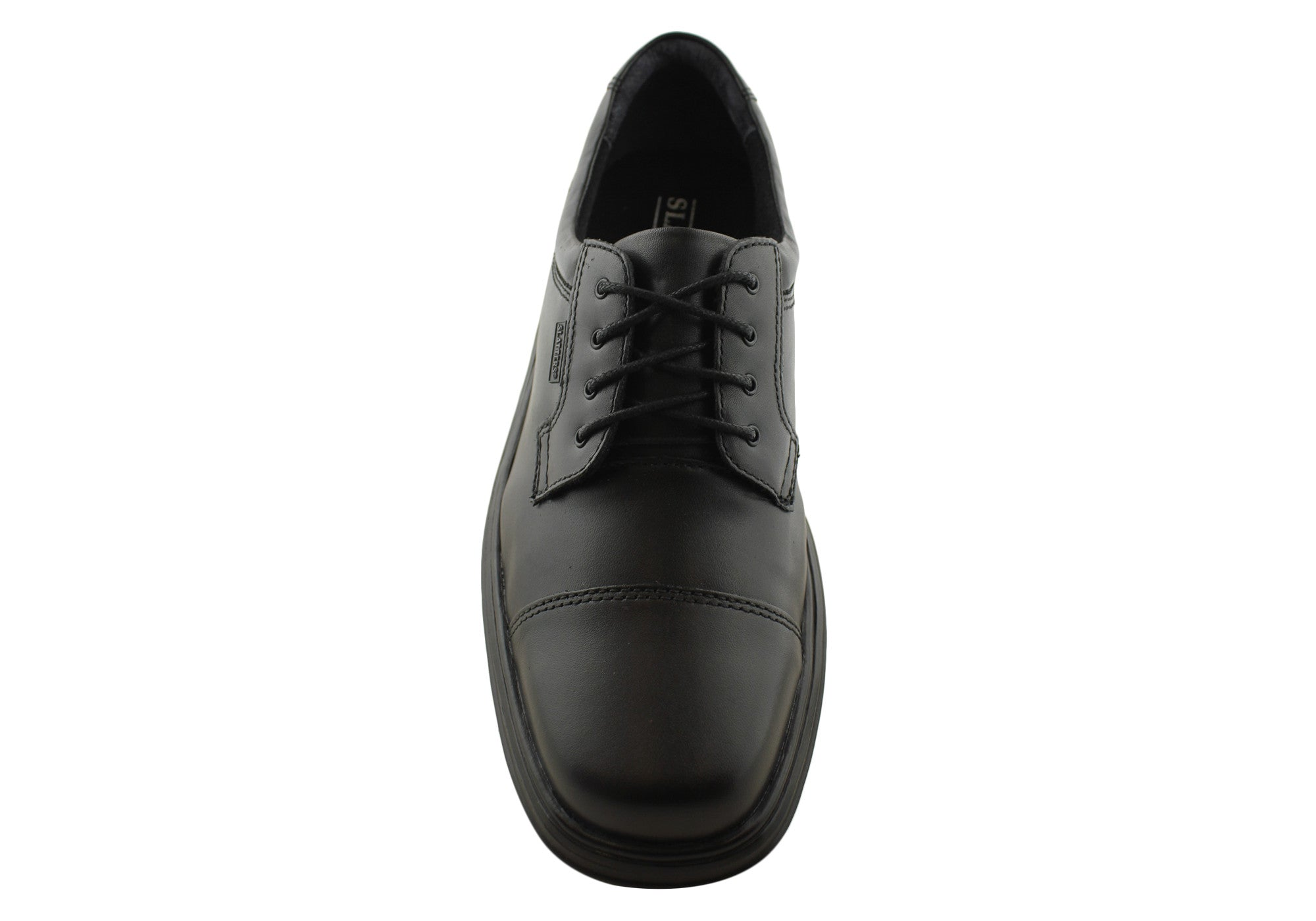 Slatters Denmark Mens Leather Lace Up Dress Shoes