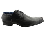 Slatters Ingram Mens Leather Lace Up Dress Shoes