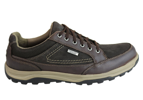 Rockport TT WP Oxford Lace Up Mens Comfortable Wide Fit Shoes