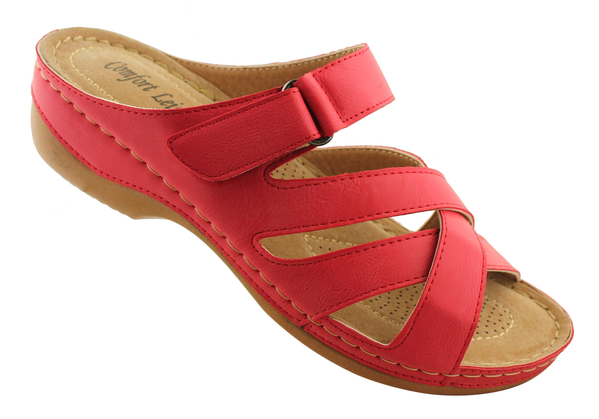 Comfort Leisure Fern Womens Lightweight Comfort Slides