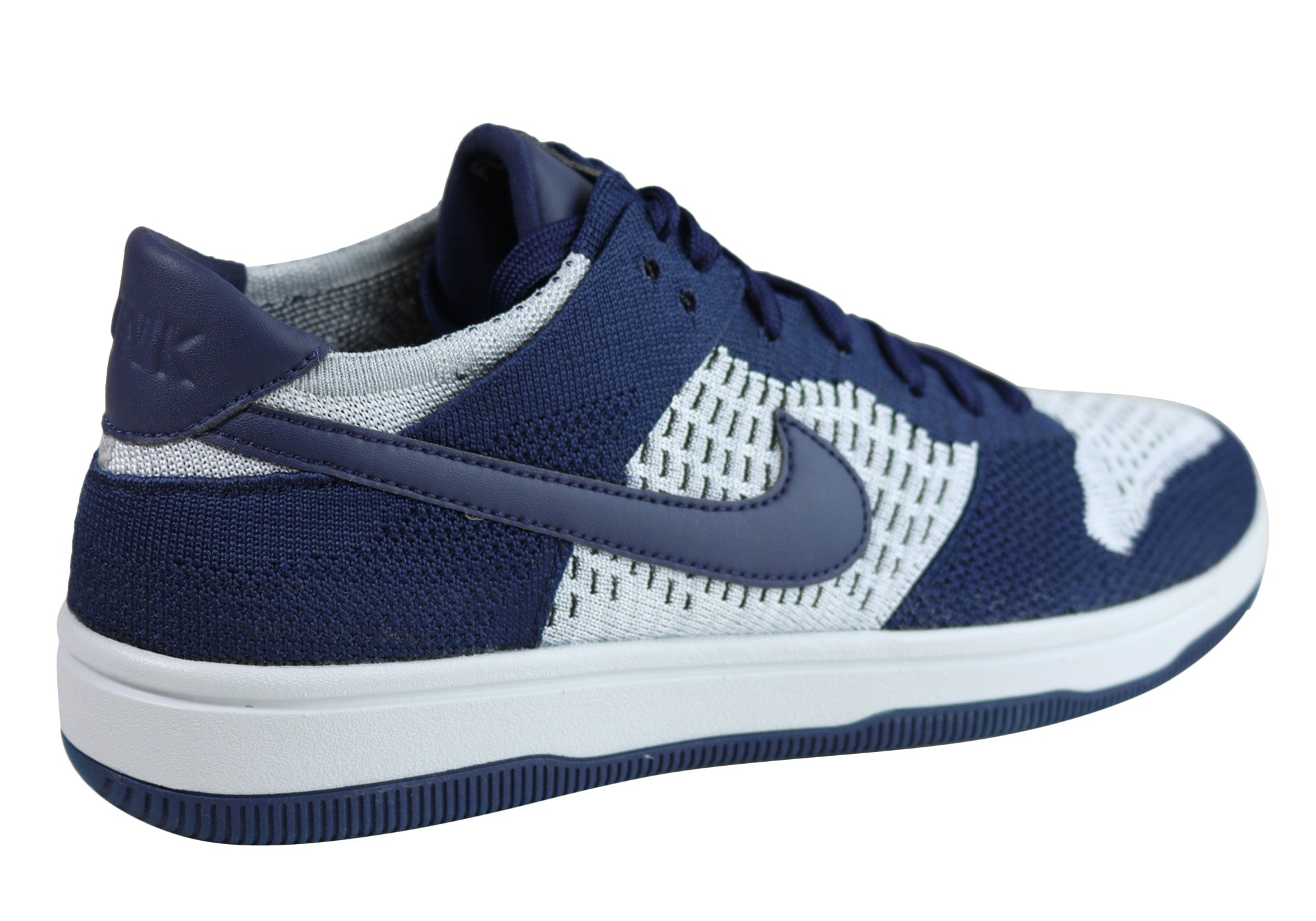 Shop Nike Mens Dunk Flyknit Casual Shoes Lightweight Low Top