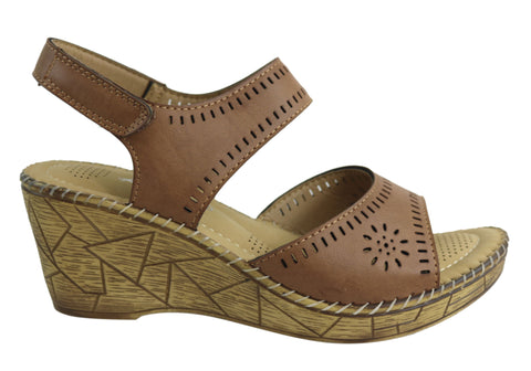 Kirra Beach Tammy Womens Comfortable Wedge Sandals
