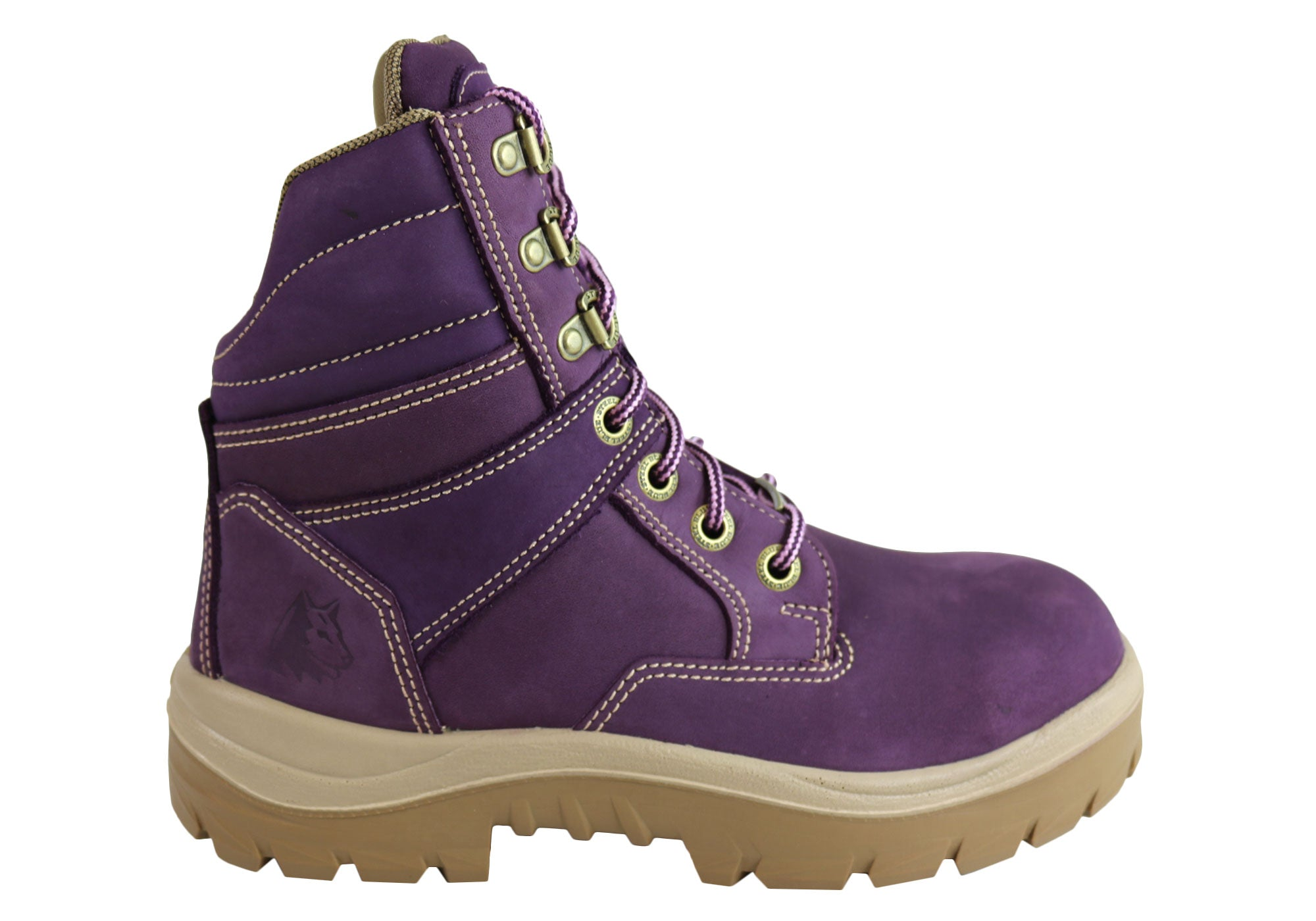 fdc590924a0 Details about NEW STEEL BLUE WOMENS 522760 & 522761 SOUTHERN CROSS STEEL  TOE WORK BOOTS