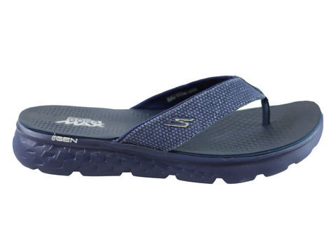 Skechers On The Go 400 Costa Mens Comfortable Thongs Flip Flops