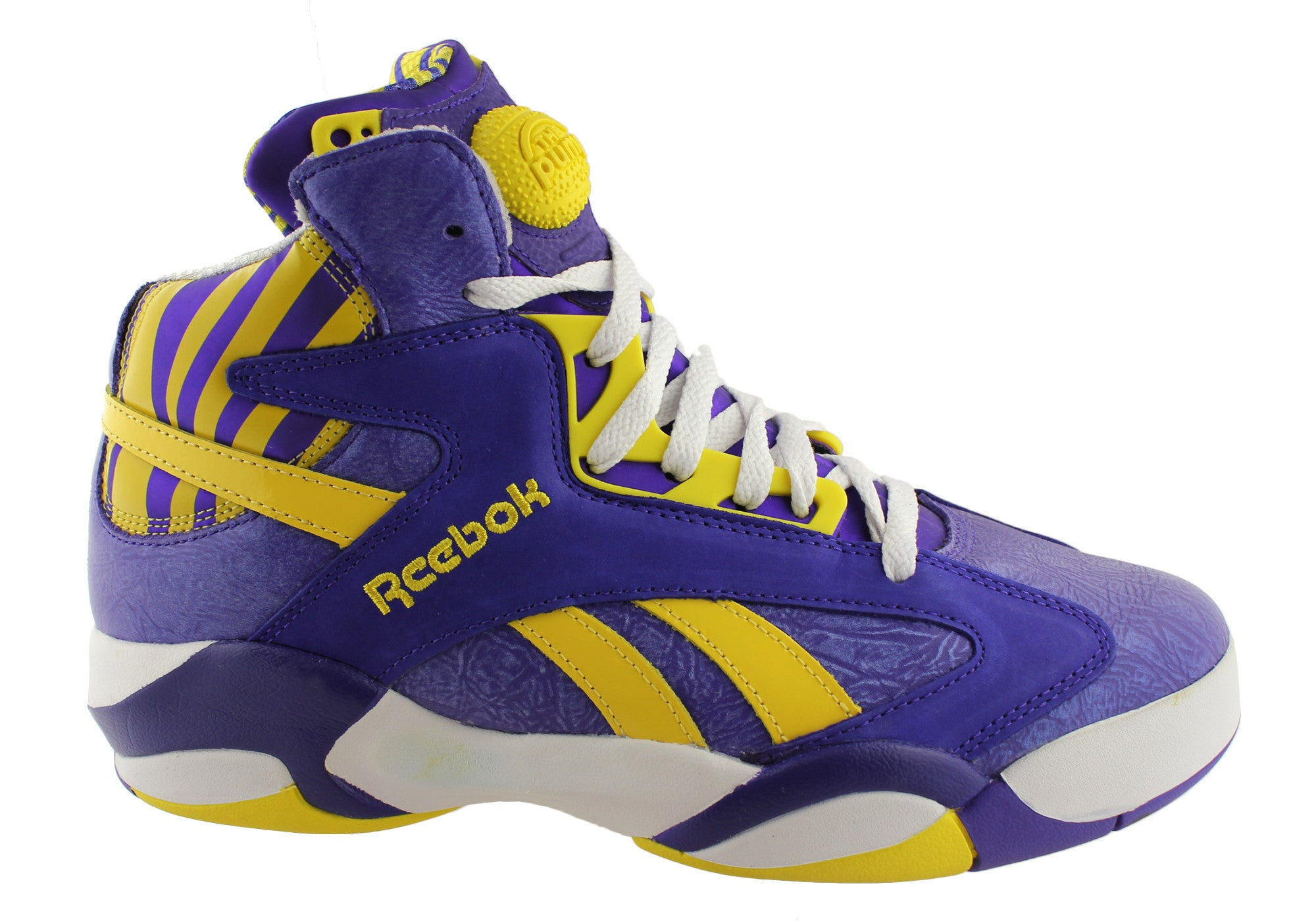 c06e40fb416 Mens Reebok Pump Shaq Attack Basketball Boots - ModeShoesAU