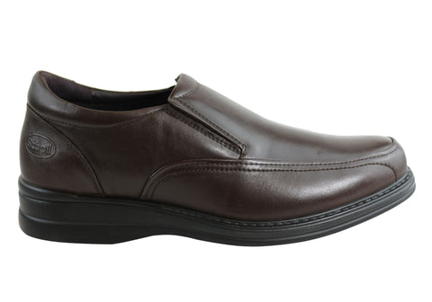 Scholl Orthaheel Belmont Mens Comfort Slip On Dress Shoes