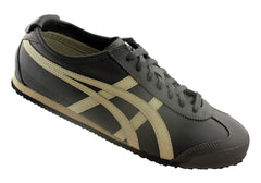 Asics Onitsuka Tiger Mexico 66 Mens Leather Lace Up Casual Shoes