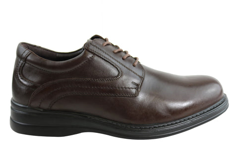 Scholl Orthaheel Benson Mens Comfort Lace Up Dress Shoes